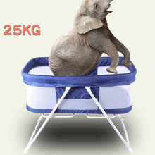 Baby Bed Cradle 92*66*56cm With Mosquito Net Portable Foldable carrycot Crib Newborn Soft Baby Cots Canopy Carry Playpen folding