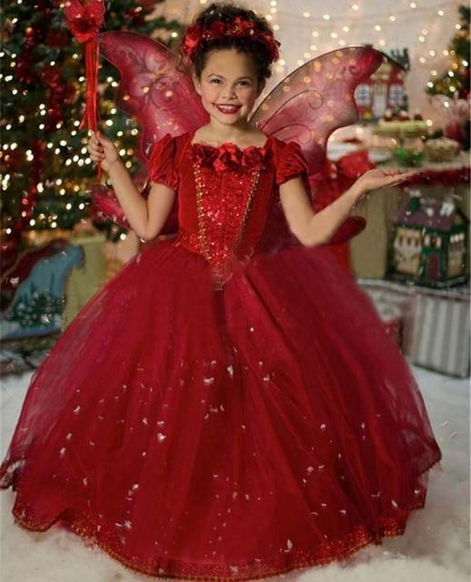 Teenage Girl Fairy Style Stage Costume Hooded Dress Little Girl ...