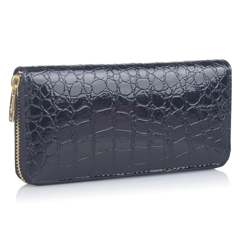JOOZ Famous Brand Alligator Pattern PU Leather Women Wallet New Fashion Long Design Female Card Holder Pocket Clutch Coin Purse купить блок питания для lcd sitronics