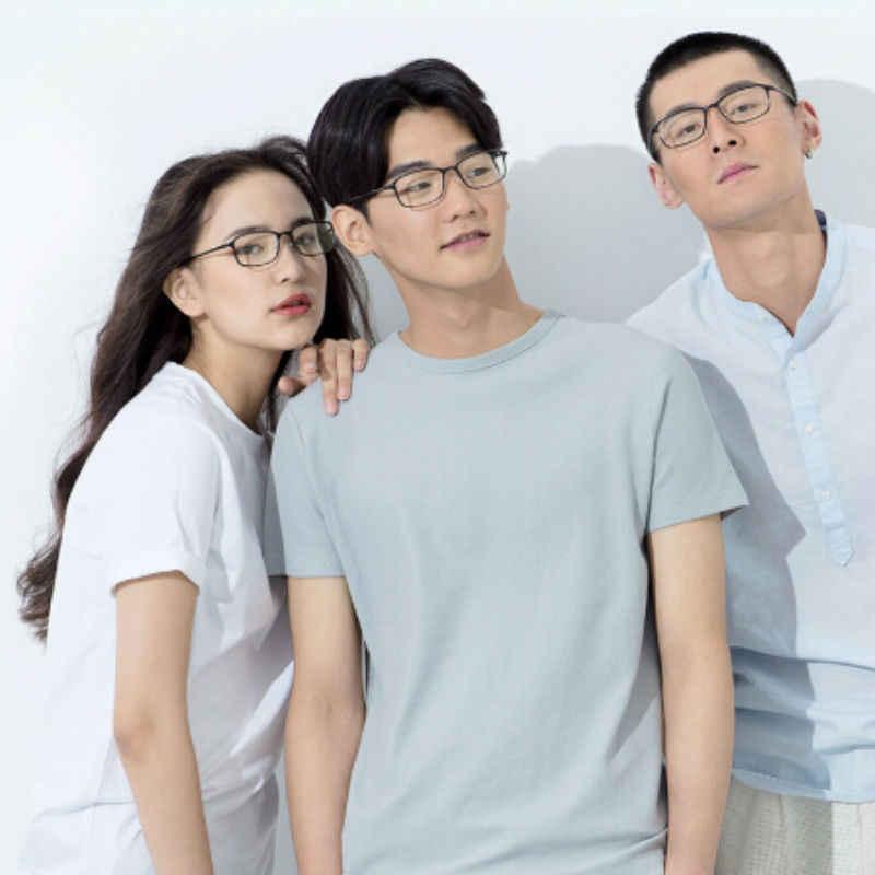 Hot Xiaomi Mijia TS Anti-Blue Glass Goggles Glass Anti Blue Ray UV Fatigue Proof Eye Protector Mi Home TS Glass Reading In Stock