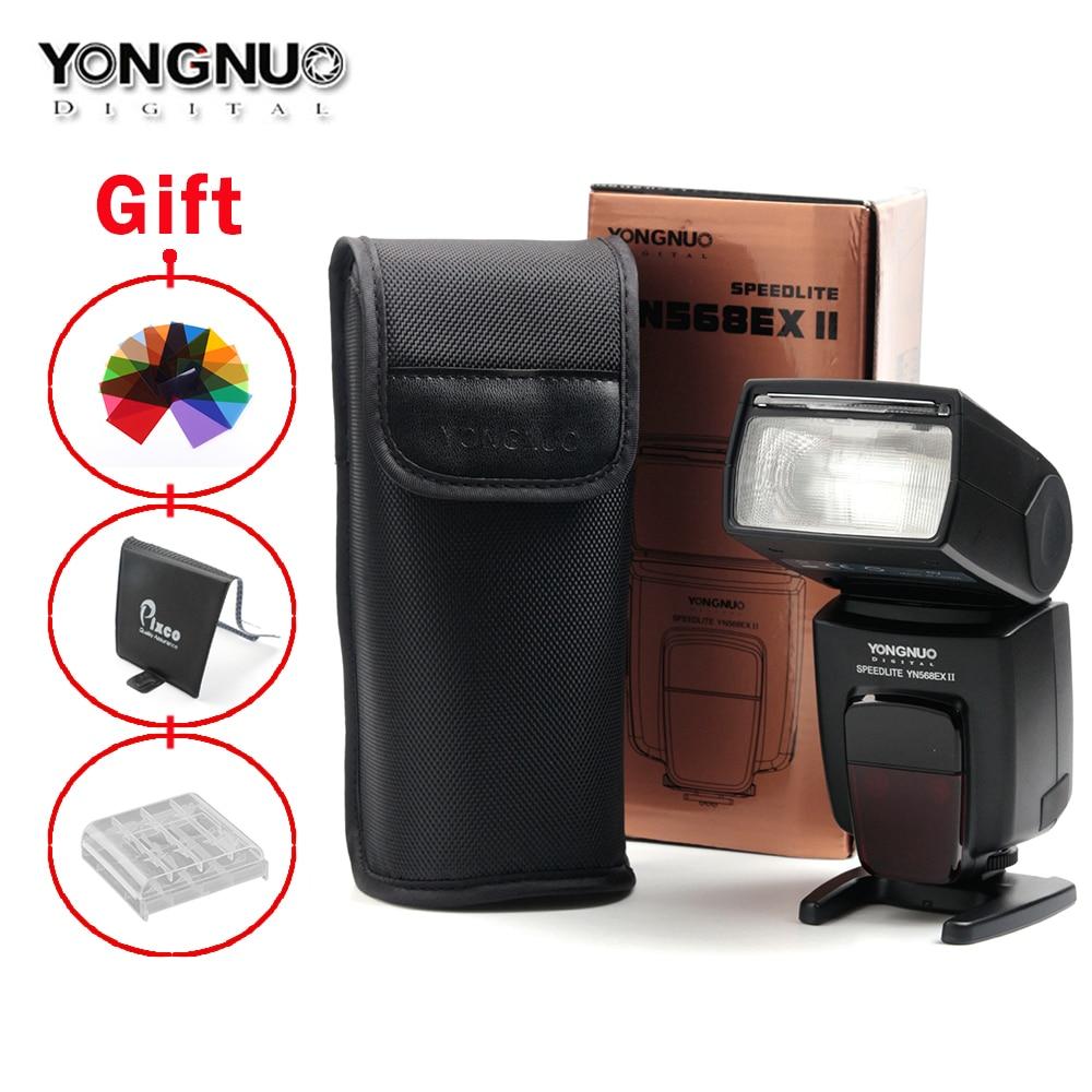 Yongnuo YN-568EX II Wireless ETTL Master  Flash Speedlite Suit For Canon  760D 750D 5DS(R) 7D Mark II 5D Mark III 2x yongnuo yn600ex rt yn e3 rt master flash speedlite for canon rt radio trigger system st e3 rt 600ex rt 5d3 7d 6d 70d 60d 5d