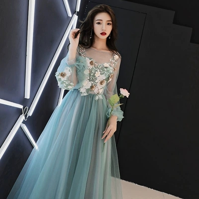 67728691f56 100%real fairy embroidery long dress gown Medieval dress queen Renaissance  Gown vintage Victoria dress Belle