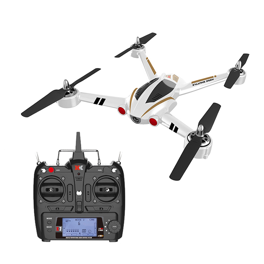 Original X252 Drones 2.4G 7CH RC Hobby Quadcopter RC Helicopter Racing Drone Brushless Motor Dron RTF 3D 6G Mode For Adult