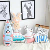 Eva2king 26 62CM Feather Plush Pillow Infant Soft For Sleeping Stuffed Animals Plush Toys Baby 's Playmate gifts for Children