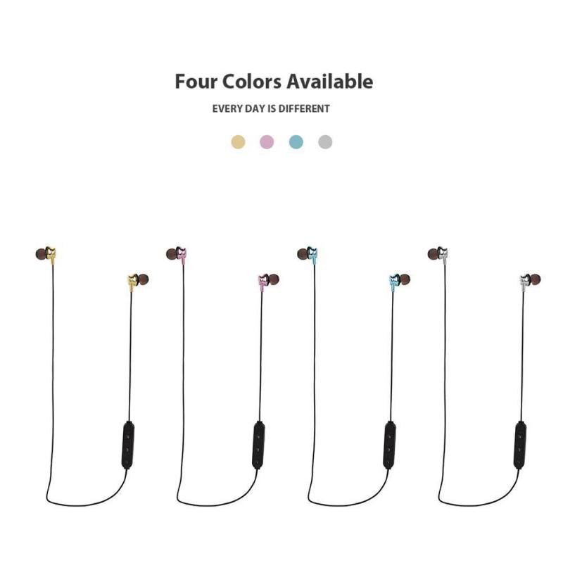 New Bluetooth Headset Wireless 4.2 Stereo Binaural Bluetooth Headphones Sports Neck Hanging for Android/ios