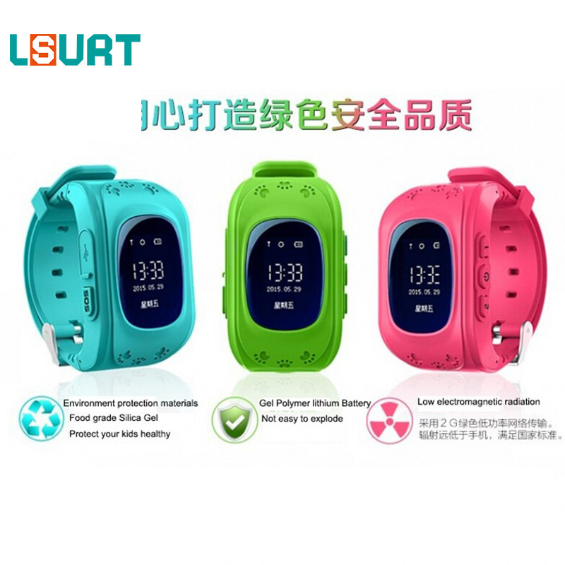 LSURT HOT Smart font b watch b font Children Kid Wristwatch Q50 font b GSM b