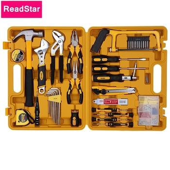 53 sztuk partia ReadStar 3703 wielofunkcyjny zestaw narzędzi box zestawy narzędzi 53 w 1 w połączeniu zestaw narzędzi śrubokręt klucz pudełko cała sprzedaż tanie i dobre opinie Sieć Repair Tool Kit