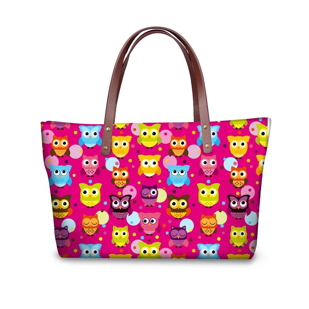 FORUDESGINS Carton Pattern Women Handbag 3D Owing Woman Shoulder Bags For Girl's Cross body Bag Bolsas Feminina Mujer Messenger