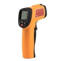 Digitale Infrarot Industrielle digitalthermometer Thermometer berührungslose LCD IR Laser Temperatur Tester Pistole Großhandel GM300E