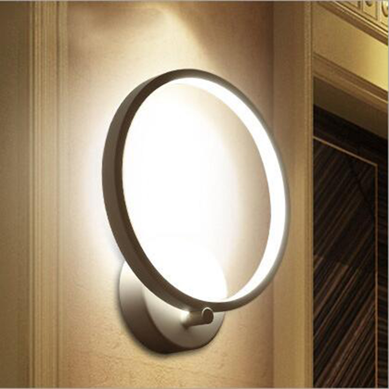 Modern wall lamp Creative Acrylic wall lights  bathroom light surface mounted wall lamps bed living room restaurant decoration modern led wall lamps living sitting room foyer bar aisle lamp acrylic bed room wall lights wall mounted sconce lighting