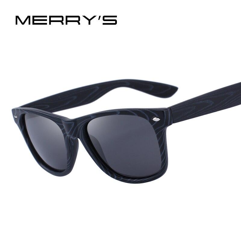 MERRY'S DESIGN Männer/Frauen Klassischen Quadratischen Polarisierte Sonnenbrille UV400 Schutz S'6128