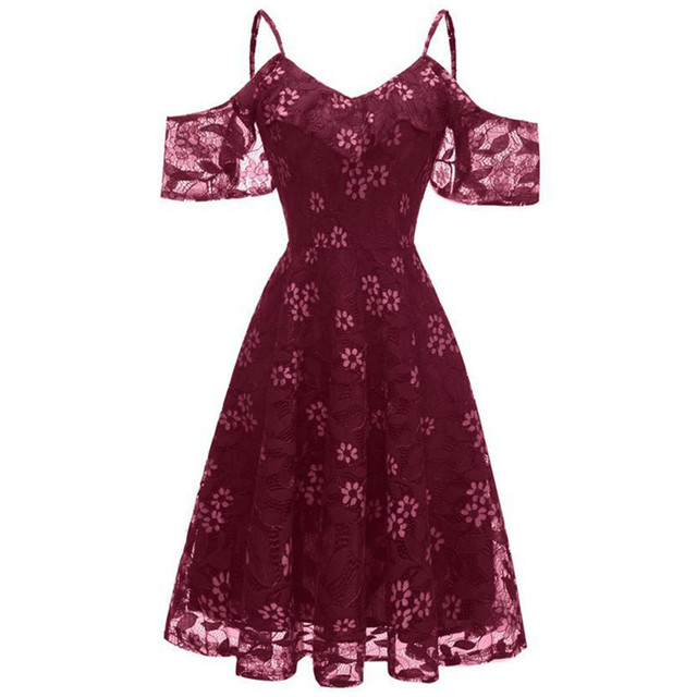 Women's mesh lace sling elegant dress sukienki na wesele damskie ladies ray dress slim dress party short dress vestidos summer