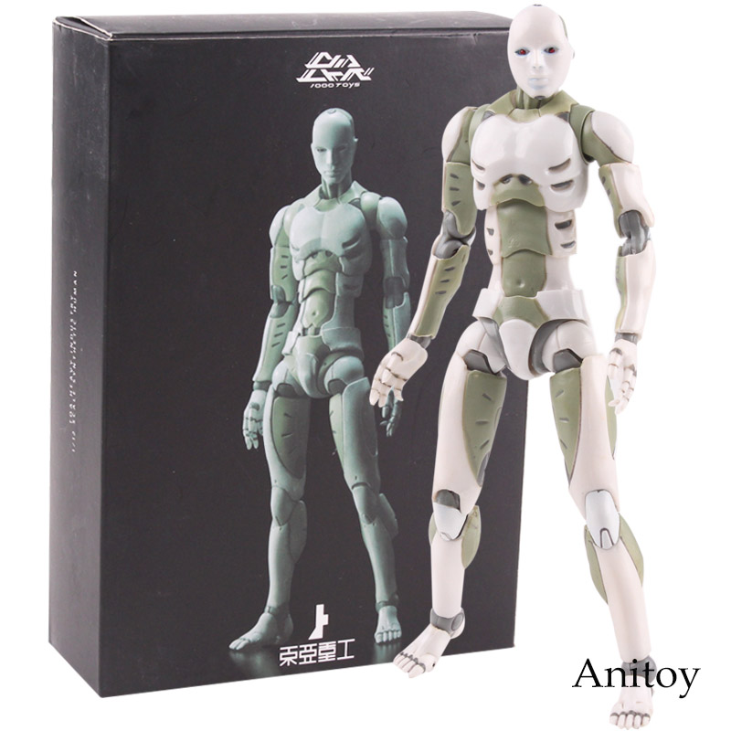 1000Toys TOA Heavy Industries Synthetic Human 1/12 Scale Action Figure Collectible Model Toy 15cm