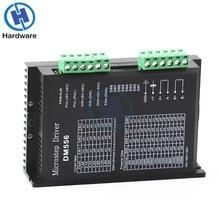 DM556 デジタルステッピングモータドライバ 2 相 57 ため 5.6A 86 ステッピングモータ NEMA23 NEMA34 ステッパモータコントローラ