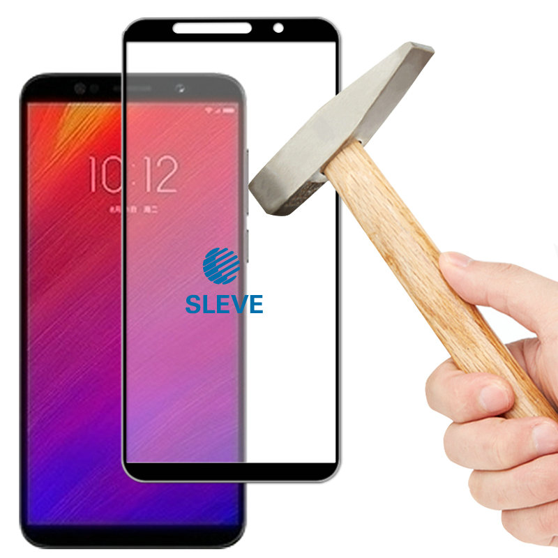 2018 Screen Tempered Glass Film Color : Black CHENNAN 25 PCS Scratchproof 11D HD Full Glue Full Curved Screen Tempered Glass Film for Galaxy A8+ Black