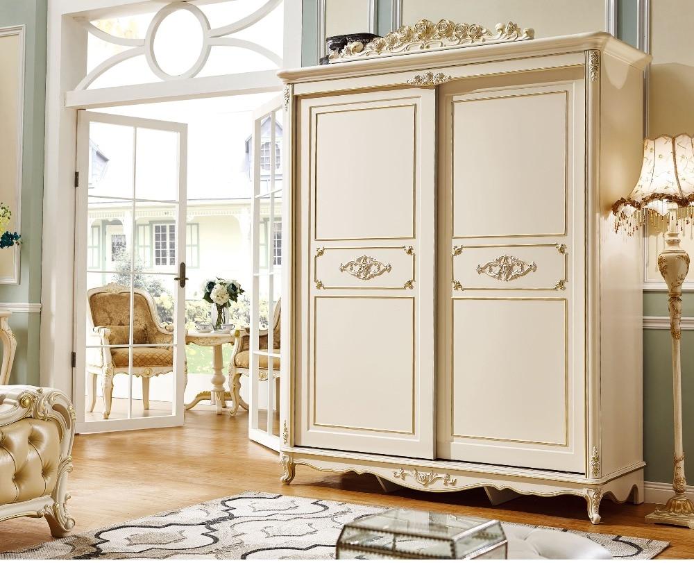 Armoire Chambre Avec Tv luxe européen et américain noblesse de style mobilier de chambre