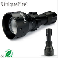 UniqueFire 3 Modes UF 1503 Hunting Flashlight T50 850nm IR LED Torch Rechargeable Battery Black Lamp Lanterna For Night Vision
