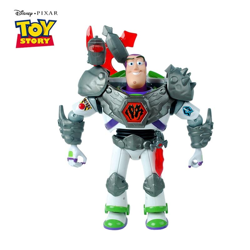 Disney Pixar Toy Story 3 4 Buzz Lightyear parler lumières parler anglais figurines modèle poupée Collection limitée jouets