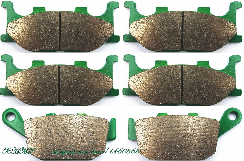 Brake Pads Set for YAMAHA FZ600 FZ6R 600 2009 & up/ XJ6F XJ6-F Diversion 600 ( Non ABS&ABS models ) XJ6 XJ-6 2010 2011 2012 2013 brake shoe pads set fit yamaha xp500 tmax tmax500 xp 500 t max abs non abs 2008 2009 2010 2011 2012