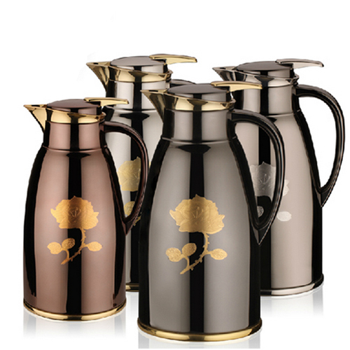 1 3 L 44oz Vacuum Flask Thermos Tea Coffee Bottle Pot Kettle Food Hot Cool