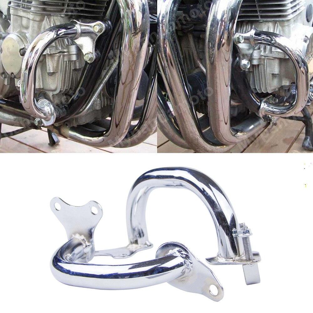 Chrome Pare-chocs Garde Moteur Pour Honda CB750 F2 Sept Cinquante RC42 1992 93 94 95 96 97 98 99 00 01 02 03 04 05 06 07 2008