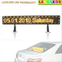 39 inches USB 16 * 96 pixel car LED display board programmable scroll message signs