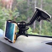 Criativo 360 Rotação Venda Quente Bico de pato Clipe Único Brisa Do Carro Universal Montar Titular Do Telefone GPS Otário Tipo Anti-slip & movimento