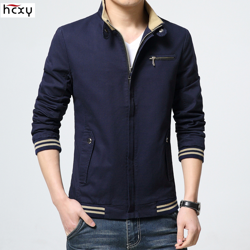 HCXY brand 2019 New fashion jacket men clothing trend college slim high quality casual men's jackets and coats 3XL 4XL