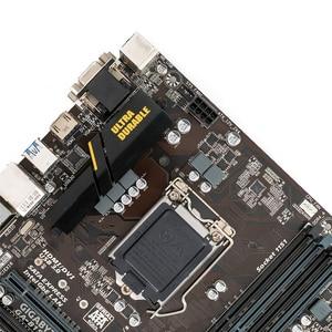Image 4 - Gigabyte GA B150M D3H B150M D3H B150 Desktop Motherboard LGA 1151 Core i7 i5 i3 DDR4 64G SATA3 USB3.0 M.2 Micro ATX DVI VGA HDMI
