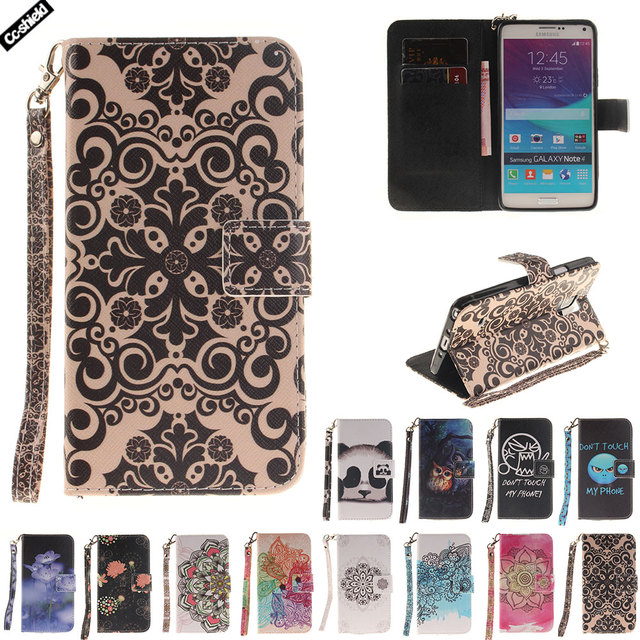 Flip Case For Samsung Galaxy Note 4 Note4 N910 N910C N910U N910K N910A Case Phone Leather Cover SM-N910F SM-N910V SM-N910T Bag