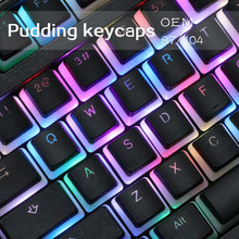 104 ANSI layout PBT Double skin milk Double shot Backlit Keycap For OEM Cherry MX Switches Mechanical Gaming Keyboard
