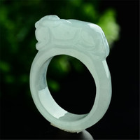 Burmese Natural A Stone Goods Women And Men S Ring Jewelry Gift