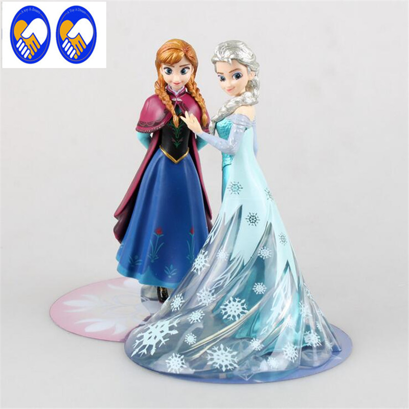 A Toy A Dream 14.5cm Anna Elsa princess toy Olaf PVC Anna Elsa action Figure Toy Play Set classic toys Free Shipping gift P662 фигурка planet of the apes action figure classic gorilla soldier 2 pack 18 см