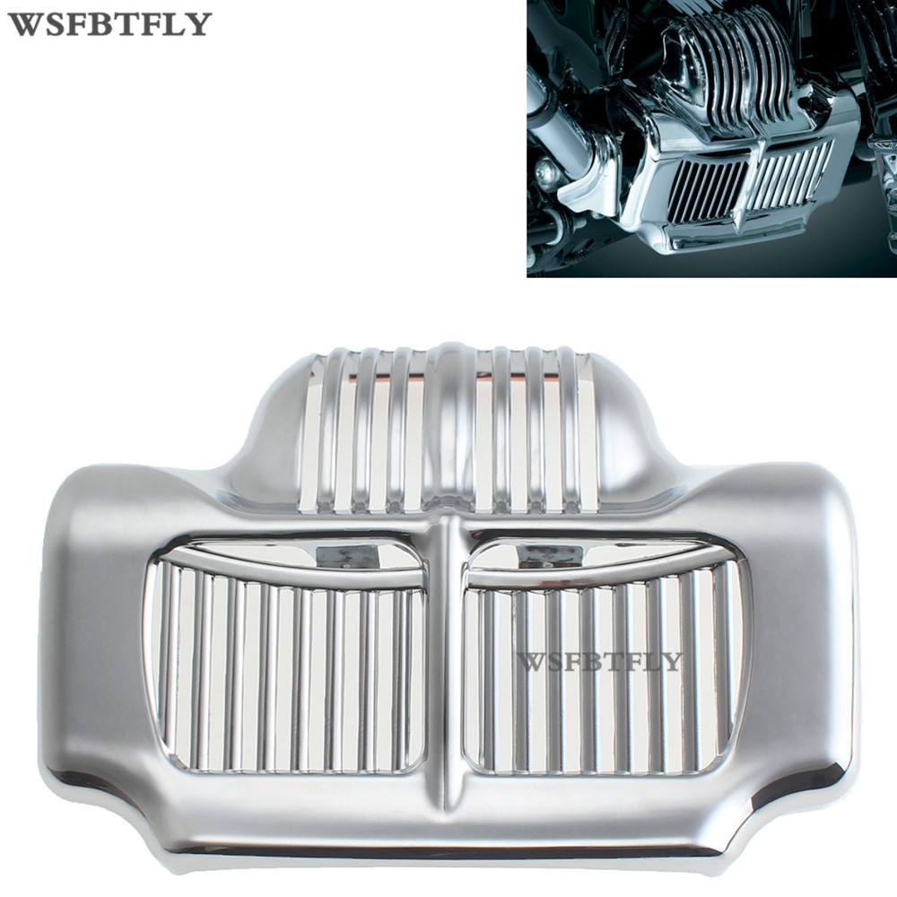 ABS Plastic New Silver Stock Oil Cooler Cover For Harley Fit Touring Electra Road Street Glide 2011 2012 2013 2014 2015 rsd motorcycle 5 hole beveled derby cover aluminum for harley touring flh t 2016 2017 for flhtcul and flhtkl 2015 2016 2017