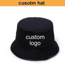 مصنع OEM! تكلفة الشحن المجاني! قبعة مخصصة قبعة وعائية صوف شعار مخصص قبعة صيد جعل شعارك أو الطباعة الكاملة