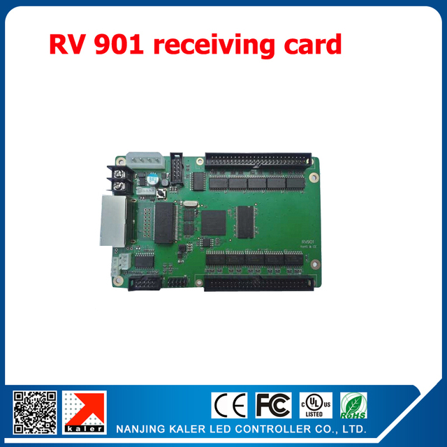 LED display receiving card RV901 Linsn led display control system video display screen receiving card with Hub75