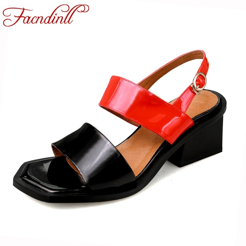 brand women sandals sexy open toe strange style high heels summer shoes lady party dress shoes patent leather gladiator sandals vankaring new sandals shoes women cruare strange style low heel open toe summer woman black dress party casual sandals slipper