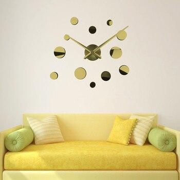 Acrylic Mirror Wall Clocks