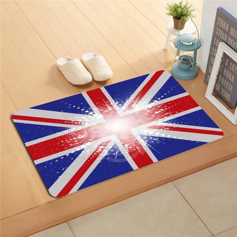 U&!64 Custom National flag #o Doormat Home Decor Door mat Floor Mat Bath Mats foot pad T ...