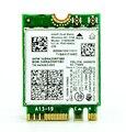 Sem fio de banda dupla-ac intel 3160 802.11a/b/g/n/ac bluetooth4.0 wifi cartão 04x6076