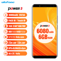 Ulefone Power 3 Android 8 1 Smartphone MTK6763 Octa Core 6 0 FHD 6GB RAM 64GB