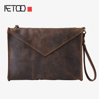AETOO The New Fashion Trend Of Hand Held Package Europe And The United States Handmade Men