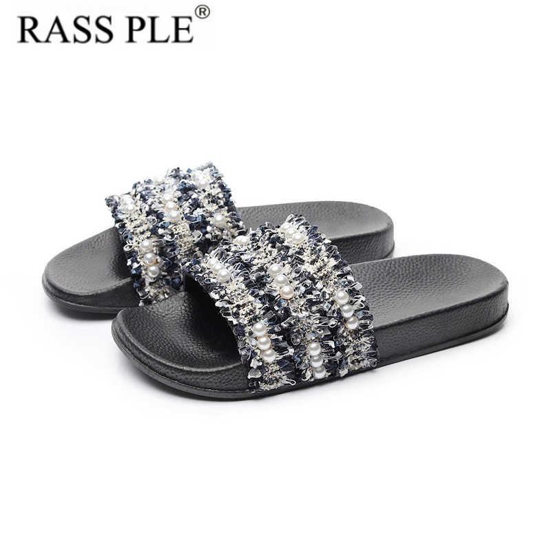 e46af937 Bow Slides Women Summer Bowknot Beach Shoes Woman Female ...