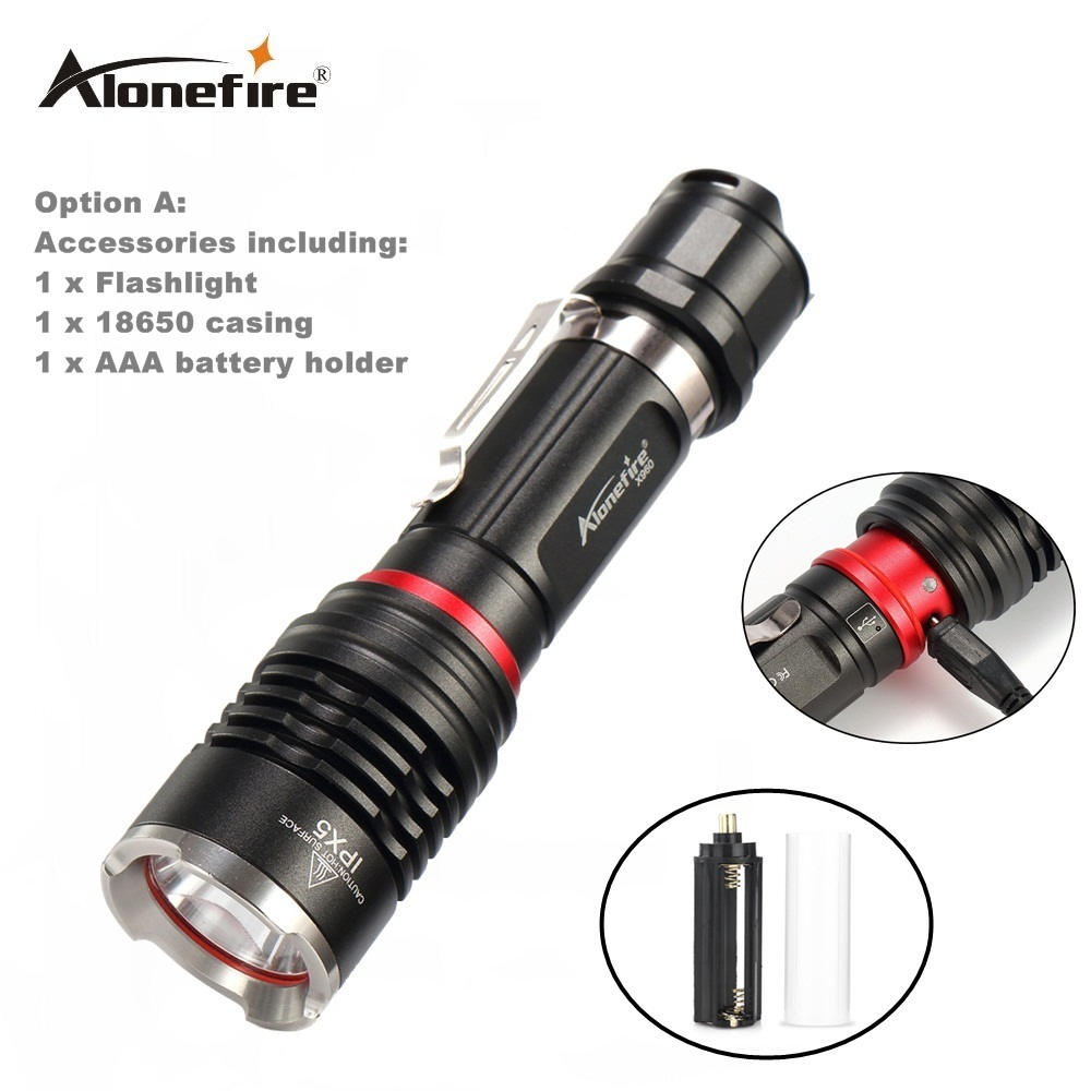AloneFire X960 high power L2 3800lm flashlight torch camping powered by 18650 lithium battery for Riding camping hunting xml l2 2500lm flashlight high power mini xml t6 zoomable torch powered by 18650 lithium battery for riding camping hunting