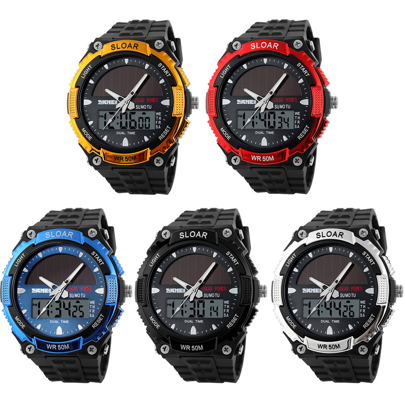 2018 Gold limit edition men dual time watch silicone material band digital watches LED display luxury  business men wristwatches segal business writing using word processing ibm wordstar edition pr only