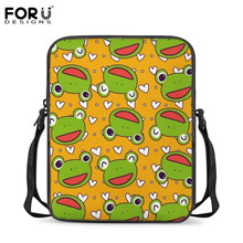 FORUDESIGNS Brand Student Mini School Bags Preschool Kids Small Crossb