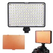 Travor Mini LED Dimmable CONDUZIU a Lâmpada de Luz na luz Da Câmera de Vídeo para Canon Nikon Sony DSLR camera Camcorder DV
