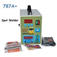 787A+ 220V Battery Spot Welder Pulse Welding Machine Notebook Phone Battery Welding Machine with Pedal