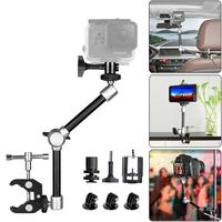 11'' Articulating Friction Magic Arm w/Super Clamp Holder Mount Rig for DSLR Camera Canon Gopro Hero Sony Action Cam Smartphone