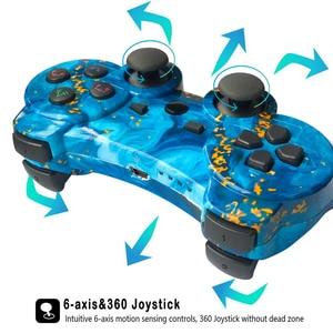 Image 5 - USB/אלחוטי בקר Gamepad הלם רטט ג ויסטיק משחק Joypad כרית בקרת עבור מחשב מחשב מחשב נייד משחקי לשחק